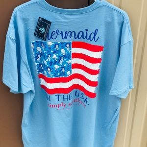 Mermaid 🧜♀️ in the USA NWT Simply Southern